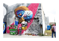 HUE Houston Mural Project - Oct 21 2015 013